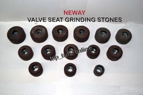 NEWAY VALVE SEAT GRINDING STONE SET 15 PCs 100 GRIT