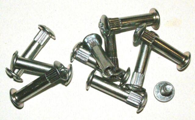 10St.Schrank Verbindungsschraube Schrankverbinder Möbelverbinder 41-56x8mm