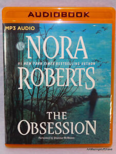 The Obsession by Nora Roberts (2017, MP3 CD, Unabridged