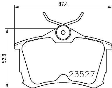 vérifier la Taille que choix POUR HONDA ACCORD 2.0 03-08 Avant Arrière Disques De Frein Pads