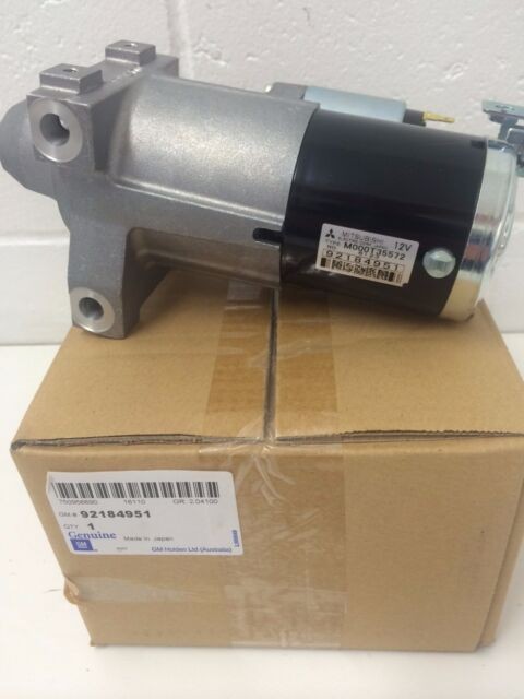 Genuine Holden Commodore V8 Starter Motor VE  WM 2007- MAY 2008 92184951