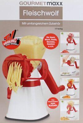3x Wurstfüller Aufsatz Füllrohr Set Lebensmittel Fleischwolf Küche Standmixer