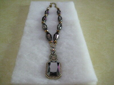 "HEIDI DAUS ""Fab Fob"" Beaded Crystal Drop Necklace (Orig.$229.95)"