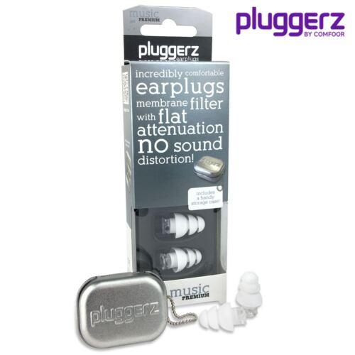 nessun effetto acustico dei tappi Pluggerz i tappi per la musica Band musicisti