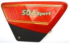 Benelli 504 Sport - Seitendeckel mit Emblem rechts