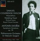 Sir Malcolm Sargent Conducts Coleridge-Taylor (CD, Nov-2013, IDIS)