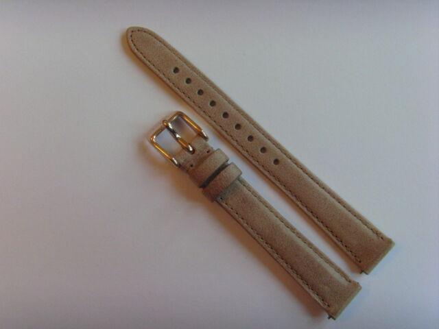 FOSSIL ORIGINALE RICAMBIO cinturino in pelle ES3487 OROLOGIO STRAP BEIGE MARRONE