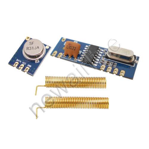 315 MHz STX882 módulo transmisor pregunte SRX882 módulo de receptor superheterodino
