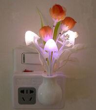 Enchanting Colorful Sensor LED Mushroom Dreamhome Night Light for Home Decor