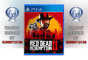 Red Dead Redemption 2 (Single Player) ps4 Trophy trofeos platino...