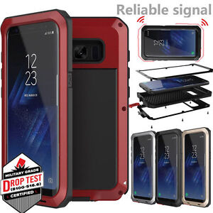 Samsung-Galaxy-S8-Plus-Waterproof-Shockproof-Bumper-Aluminum-Metal-Cover-Case