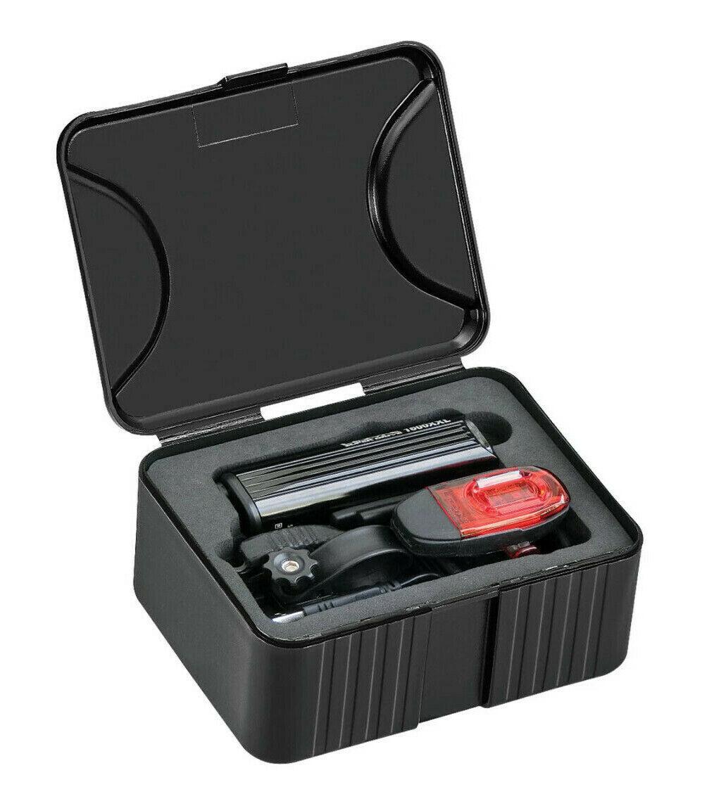 Lezyne Mega Drive 1800i LED Front Headlight Bicycle Light Black 1800 Lumen