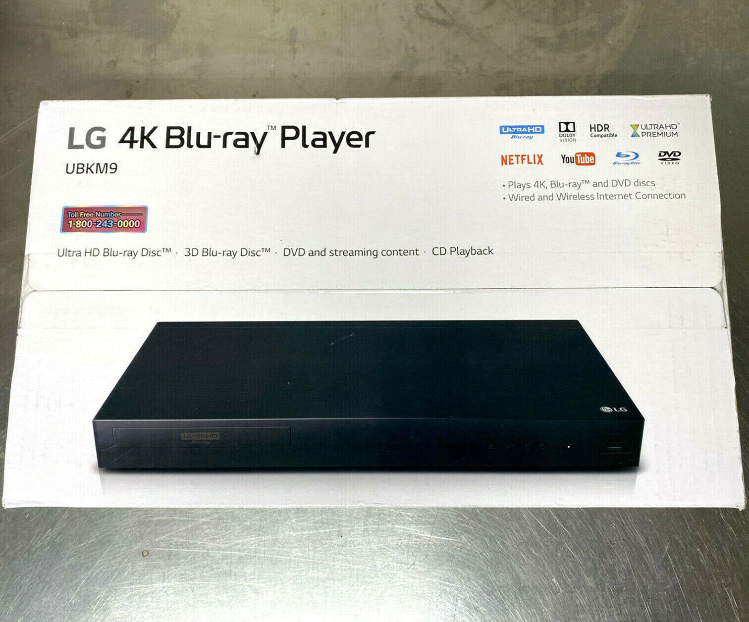LG Ultra HD 4K 3D Blu-Ray Player & Streaming UBKM9 player streaming ubkm9 ultra