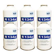 0*F Refrigerant R-134A 134 134a AC 6-12oz cans