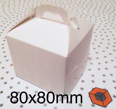 Bargain 80x80mm Muffin Boxes 30 Single Individual Cupcake