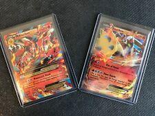 Blaziken EX & Mega M Blaziken EX XY 54 and XY 86 Ultra Rare Pokemon Cards! Holo!