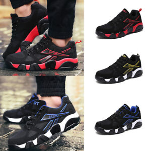Fashion-Men-039-s-Sneakers-Casual-Sports-Athletic-Breathable-Travel-running-shoes