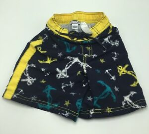 c05347bc0b Kitestrings By Hartstrings Boy's Size 4T Nautical Blue Yellow Swim ...