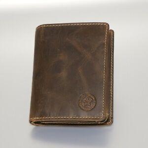 Leder Portemonnaie RFID Herren Geldbörse Hochformat braun BTK Ranger 0965-25