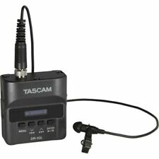 Tascam DR10L Ultra Compact Recorder With Lavalier Microphone