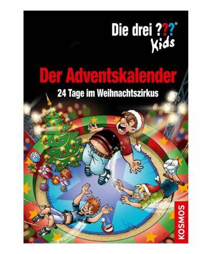 Kinderbuch Die drei ?? Kids Der Adventskalender 24 Tage Im Weihnachtszirkus
