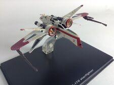 ARC-170 STARFIGHTER STAR WARS diecast model in display case