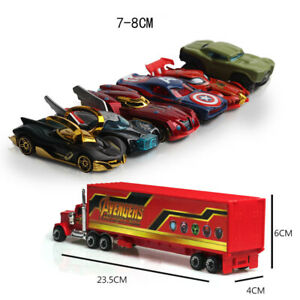 7PCS-The-Avengers-Theme-Truck-amp-Car-Model-Alloy-Diecast-Gift-Toy-Vehicle-Kids