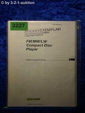 Sony Bedienungsanleitung CDX C90R CD Player (#3227)