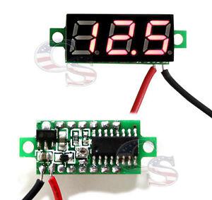 Mini-Red-DC-0-30V-LED-Display-Digital-Voltage-Voltmeter-Panel-For-Arduino