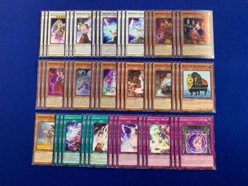 Yu-Gi-Oh Complete Shiranui Deck Solitaire Swallow/'s Slash Sunsaga Solitaire