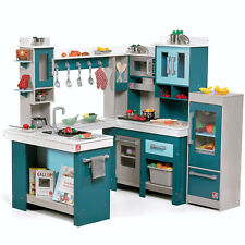 Play Kitchen Step2 Grand Walk In Wood Kids Toy Oven Stove Gift With  Accessories
