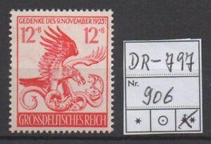 Deutsches-Reich-Michel-Nr-906-Feldherrnhalle-tadellos-postfrisch