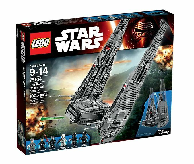 LEGO® Star Wars™ 75104 Kylo Ren's Command Shuttle™ NEU OVP NEW MISB NEFB