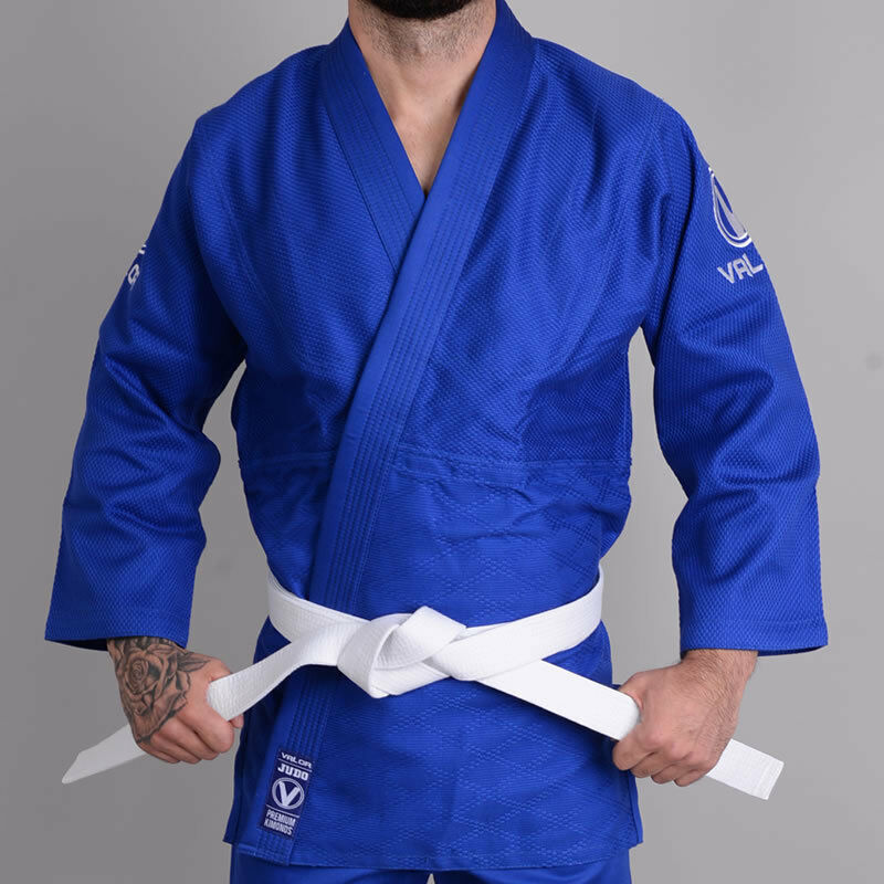 Valor Shori 450 Judo Suit bluee   FREE White Belt   FREE Delivery