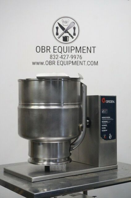 Groen TDB-40 40 Quart Electric Countertop Steam Jacketed Kettle for sale online