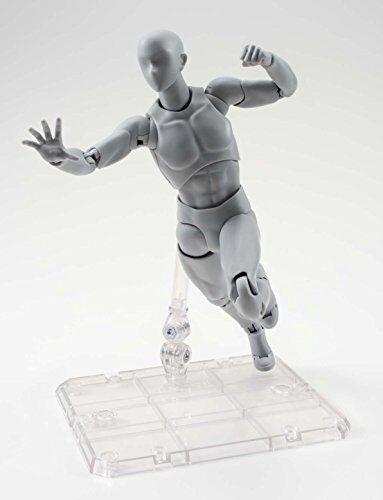 150mm ABS/&PVC figure Gray Color Ver. New S.H.Figuarts BODY KUN DX Set