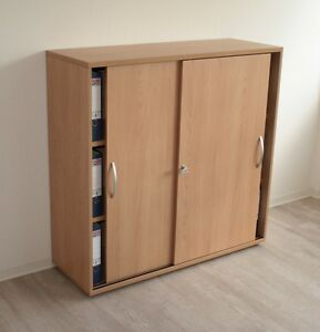 aktenschrank schiebet renschrank montiert 120 cm breit. Black Bedroom Furniture Sets. Home Design Ideas