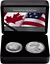 2019-Pride-of-Two-Nations-Canada-Limited-Edition-Two-Coin-Set-Eagle-Maple-Leaf thumbnail 6