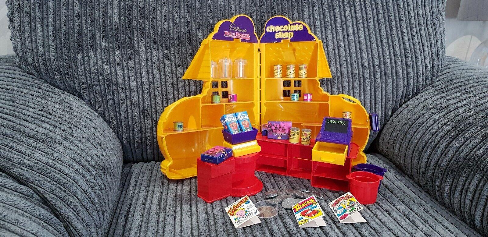 Peter pan Playthings Rare Vintage Cadburys Choclate Big démarrage Sweet  Shop Playset  shopping en ligne