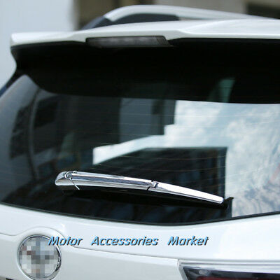 New Chrome Rear Trunk Wiper Cover For Buick Encore Chevrolet Trax 2014-2018