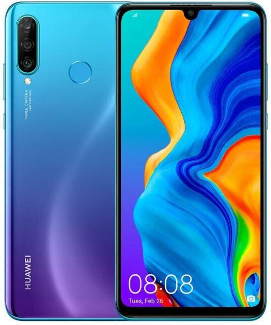 """Smartphone Huawei P30 Lite New Edition Peacock Blue 6.15"""" 6gb/256gb Dual Sim"""