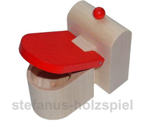 Toilettte, WC für Puppenhaus Puppenstube 1:12, Rülke 22291