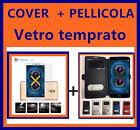 CUSTODIA COVER FLIP CASE LIBRO per Huawei Honor 6X