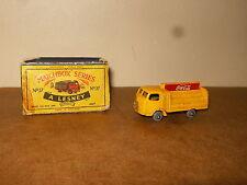 Ancienne / vintage - LESNEY MATCHBOX SERIES - N° 37 COCA COLA LORRY - 60's