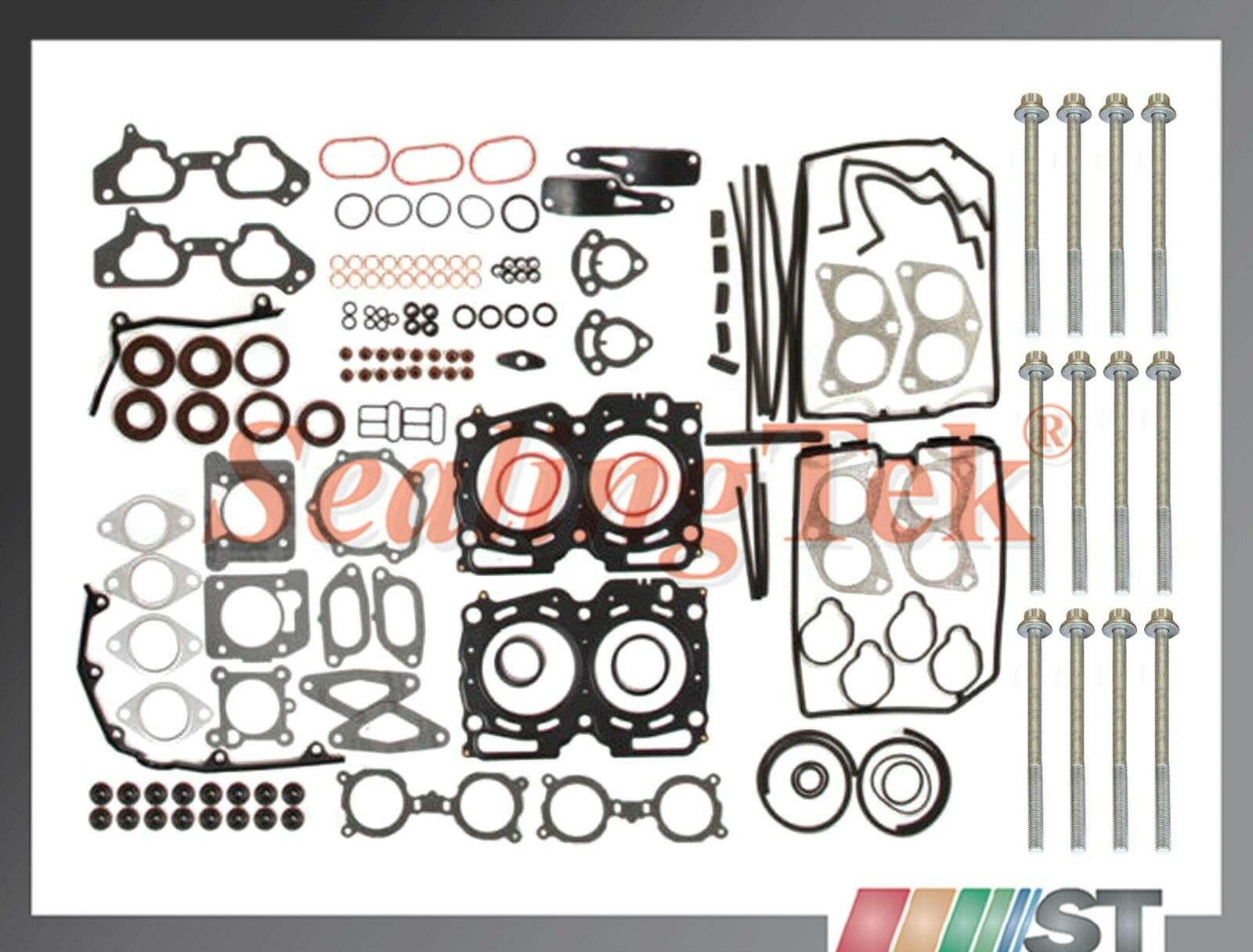 Details about Fit 02-05 Subaru Impreza WRX Turbo EJ205 USDM Cylinder Head  Gasket Set w/ Bolts