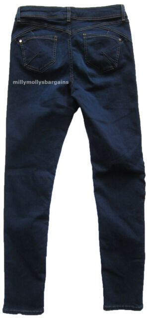 New Womens Marks & Spencer Per Una Blue Jeggings Size 12 Short Leg 27 DEFECTS
