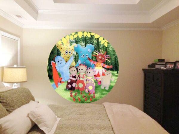 Nella Notte Giardino Circle 700mm Di Diametro Per Bambini Camera Da Letto Wall Art Adesivi. Numerosi In Varietà