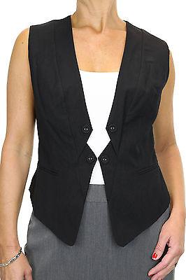 5135 Smart Ladies Waistcoat Business Or Clubbing 8-20