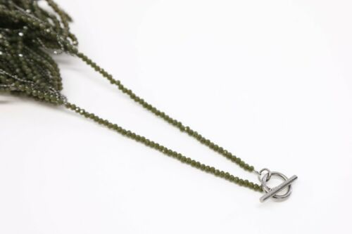 NWT$3195 Brunello Cucinelli Sparkly Beaded Waterfall Fringe NecklaceW//925SS A181