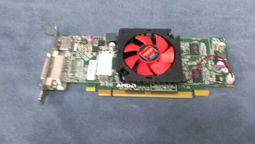 LOT of 5 Dell AMD Radeon HD 6450 1GB PCIe Low Profile Video Card  NFXD5